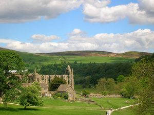 Bolton Abbey, Upper Wharfedale with over 80 miles of walking trails