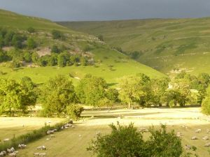 Lovely light in Wharfedale